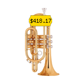 This trumpet is perfect for pro musicians who enjoy playing the trumpet.