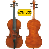 This violin is perfect for novice musicians.