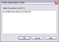 create association class - enterprise architect